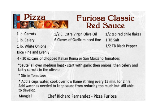 Pizza Furoisa Red Sauce Recipe Flagstaff