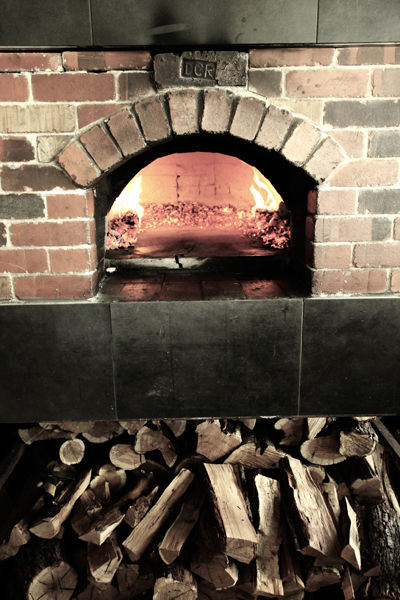 Brick Oven At Pizza Furiosa Flagstaff Arizona